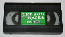 Replacement VCR Tape for Let's Go to the Races Parker Brothers Horse Racing Game