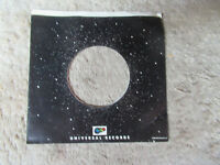 sleeve only  UNIVERSAL   45 record company sleeve only 45