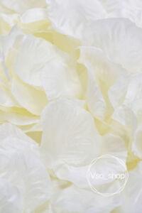 500-10000pcs Silk Rose Petals Artificial Flowers Wedding Party DIY Decor Ivory