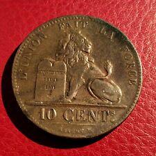 Belgique - Léopold Ier - Très Jolie  monnaie de 10 Centimes 1832  au lion