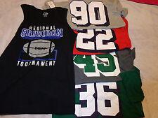 Nwt tcp childrens place #22 #45 #90 #36 boys 5 pcs shirts lot 14 grey red s/s