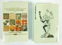 playing cards campbell taggart vtg family fine double 2 decks sealed bb