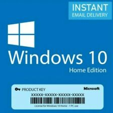 Licenza Windows 10 home 32/64 Bit Product Key