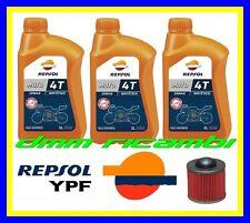 Kit Tagliando YAMAHA XT 600 E 01>02 + Filtro Olio REPSOL 10W/40 XT600E 2001 2002