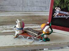 Hallmark Time For treat Hershey's sled mouse 1996 ornament Xmas holiday tree new