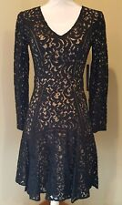 Cynthia Steffe Claire Long Sleeve Lace Dress Women's Size 2