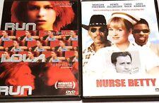 Run Lola Run & Nurse Betty Dvd Lot