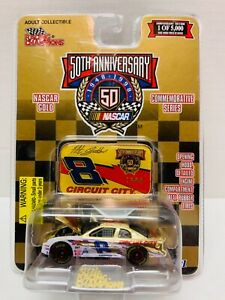 New 1998 Racing Champions 1:64 NASCAR Gold Hut Stricklin Circuit City Chevy #8