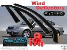 SKODA OCTAVIA II 2004 - 2013  SALOON Wind deflectors 4.pc  HEKO  28330  STICKING