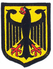 FLAG PATCH PATCHES GERMANY EAGLE GERMAN coat of arms  IRON ON EMBROIDERED EMBLEM