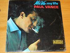 "SEALED MONO POP LP - PAUL VANCE - SCEPTER 557 - ""MA VIE - MY LIFE"""