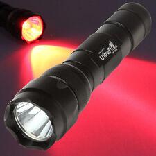 WF-502B  LED Red Color Light 1 Mode Flashlight Torch