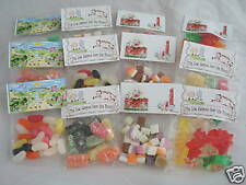 12 Christmas Bag Toppers & Bags - Wrappers Only!!