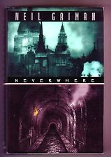 NEVERWHERE (Neil Gaiman/1st US/a gothic otherworld hiding under London)