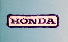 Vintage 1970's Honda Motorcycle Biker Vest Jacket Hat Patch Crest Dirt Bike J