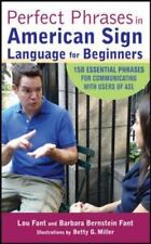 Perfect Phrases in American Sign Language for Beginners Perfect Phrases Series