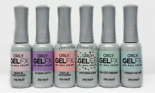 Orly Gel Fx Nail Polish- La La Land Winter 2016 Collection -6 colors 30921-30926