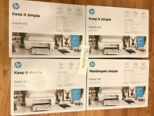 🚚 Free Ship ✅ Hp Deskjet 2722 Inkjet Wireless All-In-One Printer, Ink Included!