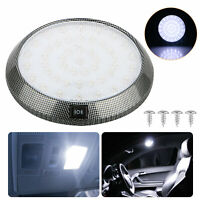 46-LED Round Car Auto Interior Roof Ceiling Dome Reading Trunk Light Lamp White