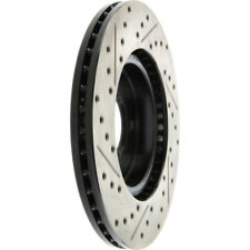 Disc Brake Rotor-Sport Drilled/Slotted Disc Front Left Stoptech 127.42091L