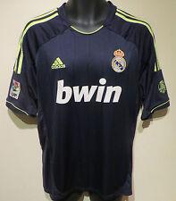 ADIDAS 2012 Real Madrid Calcio Maglietta LA LIGA SOCCER JERSEY CAMISETA LARGE L