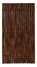 BAMBOO SCREENING FENCE PANEL HALF RAFT - BROWN 1.8m(H) x 1.0m(W)