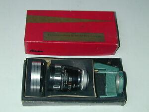 ISCOMORPHOT 8/15 objectif Lens Isco Gottingen pour BAUER 88b ciné cinéma