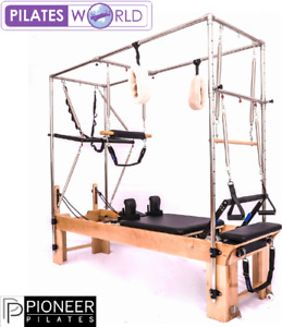 Pioneer Pilates Reformer |Full Trapeze Wood Exercise Physiotherapy Fitness