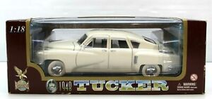 New Road Legends Collection Die Cast Metal White 1948 Tucker A10