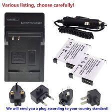DMW-BCM13E Battery or Charger for PANASONIC LUMIX DMC-ZS30 DMC-TS5 DMW-BCM13PP