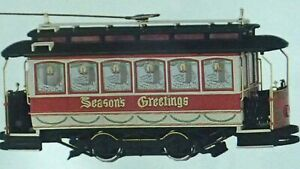 SPECTRUM ** CHRISTMAS CLOSED STREET CAR **TROLLY** #25127 On30 Scale  *NEW* NIB