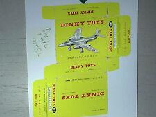 REPLIQUE  BOITE AVION VAUTOUR S.N.C.A.S.O / DINKY TOYS 1957