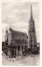 AK, Foto, Wien 1. Bezirk, Stefansdom, 1931 (D)5026-5