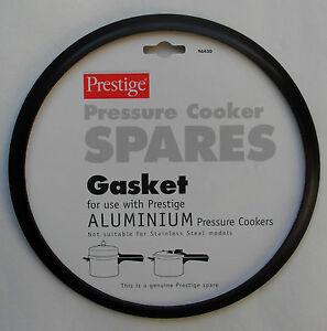 Genuine Prestige Pressure Cooker Gasket Seal, Aluminium Cooker, Comes Carded