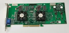3DFX Voodoo 5 5500 16MB AGP VGA Video Card for DOS Retro Gaming working #S25