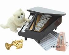 Re-ment miniature Cat Diary piano set