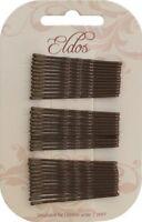 Eldos Hair Grips Brown 36 pack - HMC142
