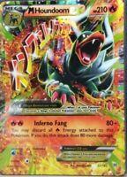 ULTRA RARE M Houndoom EX 22/162 Pokemon XY BREAKThrough Holo Foil Mega - LP