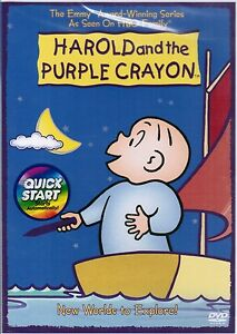 Harold and the Purple Crayon New Worlds to Explore 2007 Childrens DVD Movies