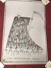 Radiohead Concert Poster MSG NYC Tour 2018