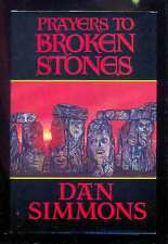 Dan SIMMONS - Prayers to Broken Stones, Dark Harvest 1990  signed 1st (old new)