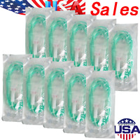 10 Bags Dental Implant Surgery Irrigation Tube C Type For Handpiece Green USPS!