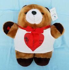 Cough Buddy Plush Bear Stuffed Animal Teddy-Tech Inc1990-Chest-Abdominal Surgery