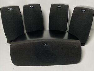 Klipsch Quintet Home Theater 5 Speaker Surround Sound Set - Tested