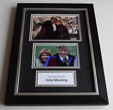 Katy Manning Signed Autograph A4 FRAMED photo display Doctor Who TV AFTAL & COA