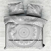 Indian Mandala Bedding Set Throw Hippie Bed Sheet King Size Tapestry Bedspread