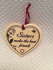 buy sister ornaments in decorative plaques signs ebay