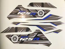 YAMAHA WR 125 WR125R 2014 Decal kit 9 Piece Quality aftermarket Vinyl Graphics.