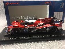 Spark 1/43 Ligier JS P217 Gibson Team Idec Sport #17 24h Le Mans 2017 Art S5807