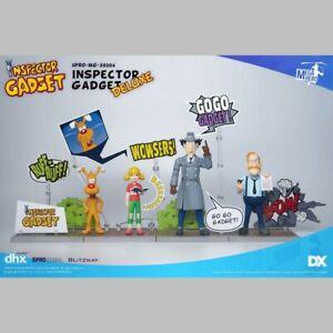 Inspecteur Gadget pack figurines Blitzway Mega Hero Inspector Gadget DX 17 cm